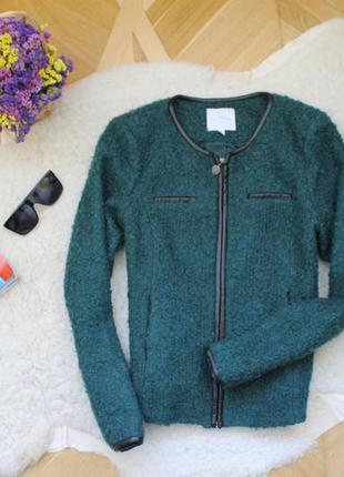 Классный стильный жакет куртка полупальто
