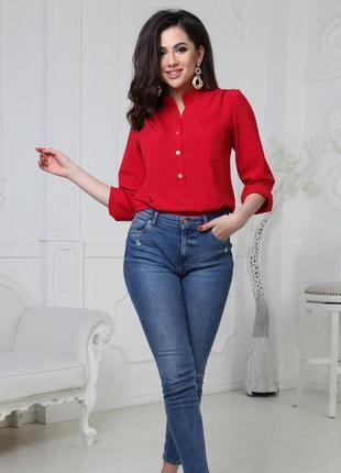 Лёгкая нарядная блузка, большие размеры