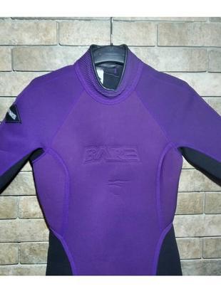 Костюм для дайвинга bare slalom оригинал, гидрокостюм, размер 11-122 фото