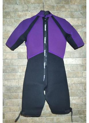 Костюм для дайвинга bare slalom оригинал, гидрокостюм, размер 11-124 фото