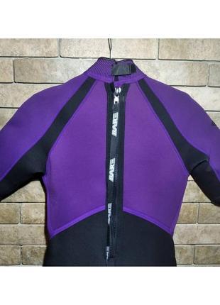 Костюм для дайвинга bare slalom оригинал, гидрокостюм, размер 11-125 фото