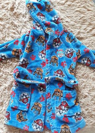 Махровый халат для мальчика george