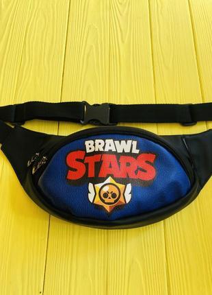Бананка, барыжка, сумка на пояс, барсетка browl stars д