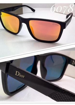 Женские солцнезащитные очки dior с поляризацией