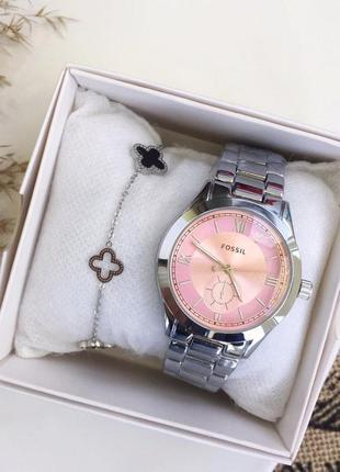 Прекрасный комплект часы и браслет ван клиф