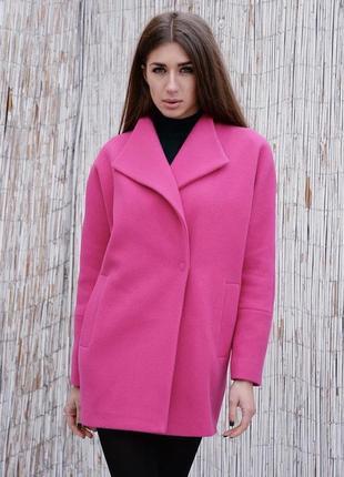 Демисезонное пальто шерсть