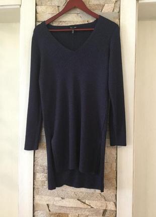 Стильный  пуловер — туника от massimo dutti.