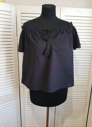 Черная блуза calliope