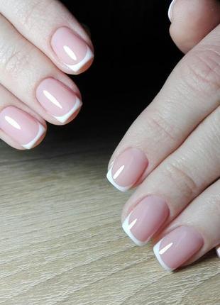 Нежно-розовый гель для наращивания