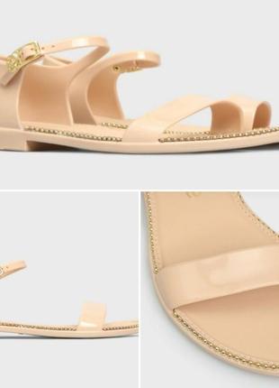 Классные силиконовые босоножки, сандалии petite jolie
