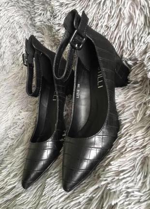 Туфли питон