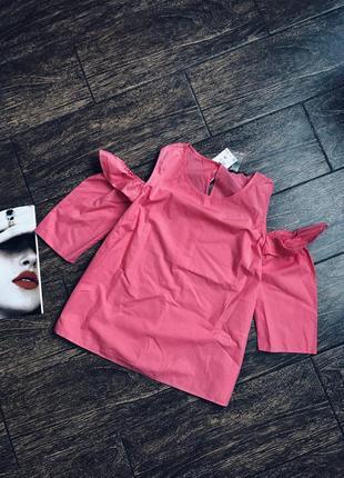 Потрясающе красивая хлопковая блуза