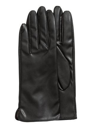 Кожаные перчатки h&m. премиум качество. все размеры в наличии