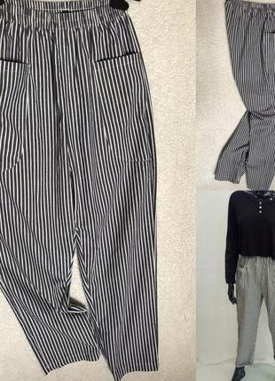 Летние брюки в полоску идеал s
