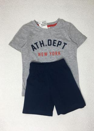 Костюм футболка и шорты hm
