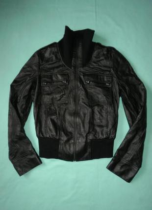 Куртка кожаная от mexx, натуральная кожа