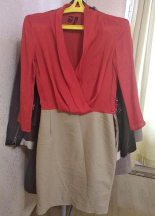 Красивое стильное платье xs s, 36 38