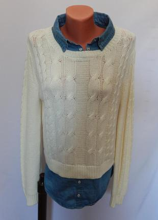 Свитер со вшивной рубашкой -обманкой от new look 915generation