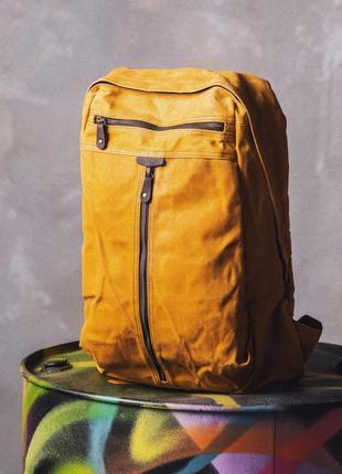 Винтажный городской рюкзак armour с отделением для ноутбука. подарок.