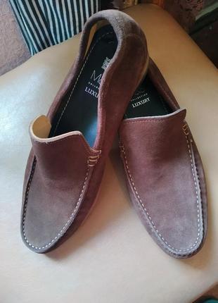 Туфли замш1 фото