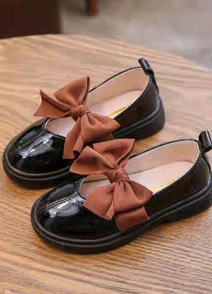 Очень красивые туфли на девочку