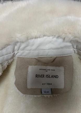 Косуха river island деми мех эко кожа курточка теплая дубленка штаны5 фото
