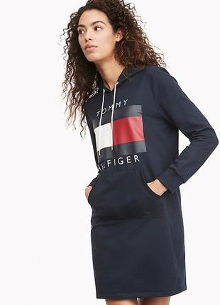 Платье худи tommy hilfiger, tommy hilfiger, худи tommy hilfiger