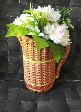 Кувшин для сухоцветов подарочный