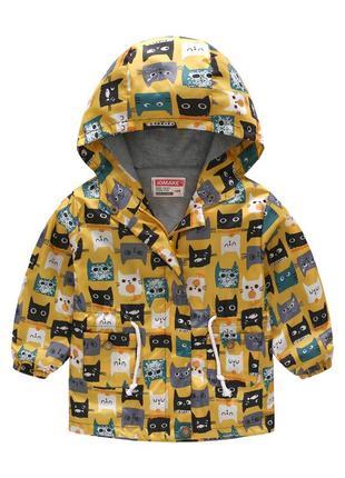 Куртка ветровка, р. 100-140