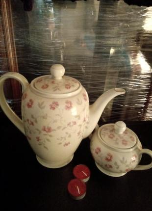 Красивый набор для чая
