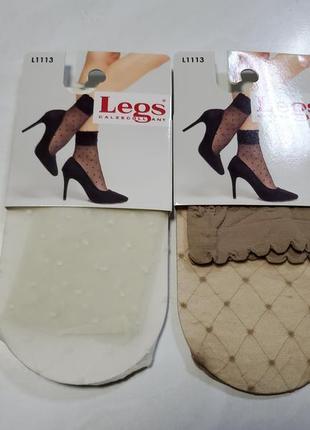 Красивые капроновые носочки legs