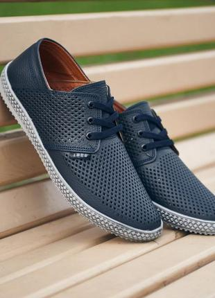 Кожаные мужские туфли р.40-45 наложенный платеж обмен