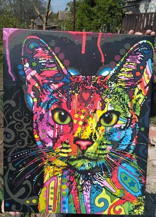 Картина магический кот