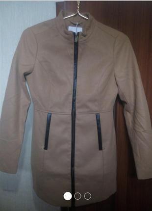 Новое пальто pull&bear