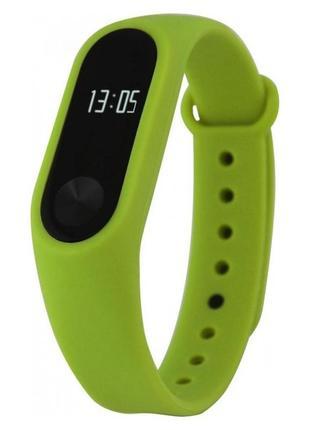 Силиконовый ремешок для xiaomi mi band 2 зеленый салатовый