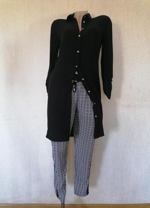 Джоггеры лёгкие летние брюки штаны с лампасами и карманами