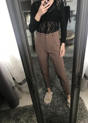 Нові штани чорні сірі мокко