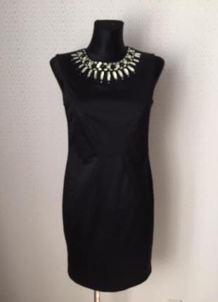 Красивое элегантное силуэтное коктейльное платье от esprit, размер нем 38, укр 44-46