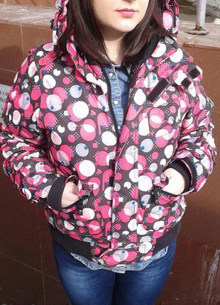 Акция!!! 3 дня-цена 300грн!!!яркая лыжная куртка protest