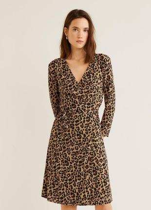 Стильное леопардовое платье✨