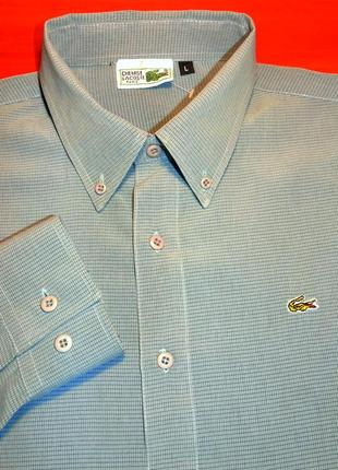 Lacoste отличная рубашка - l - xl