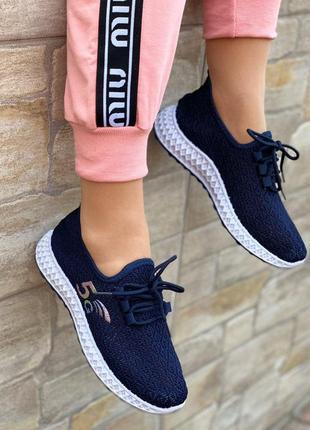🌟супер крутые стильные женские кроссовки сеточка🌟