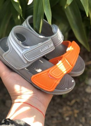 Пляжные босоножки сандалии 14.5-15см