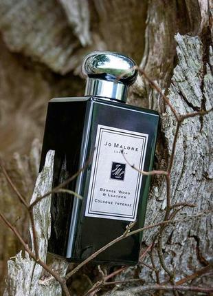 Jo malone bronze wood & leather_original cologne intense 5 мл затест