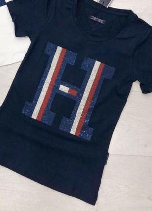 Новая женская футболка tommy hilfiger.