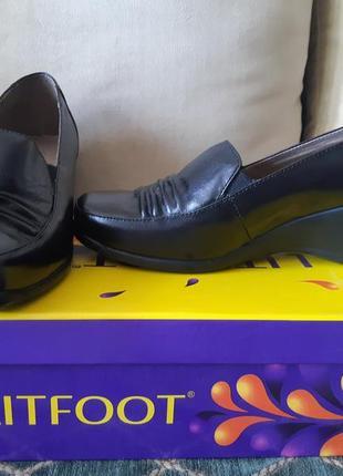 Супер удобные кожаные туфли