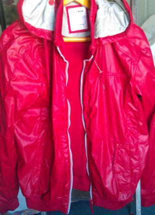 Новая куртка pull&bear