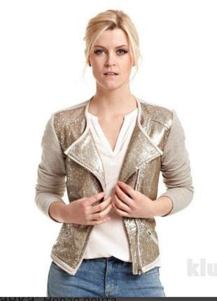 Кофта курточка в паетки