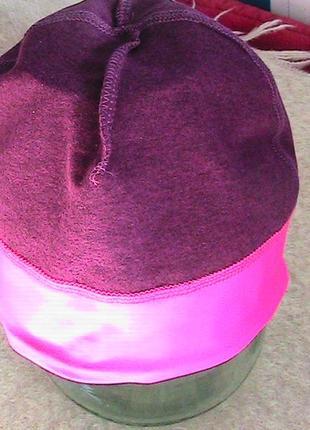 Спортивный комплект ветровка и шапка серии актив на байке от tchibo германия5 фото