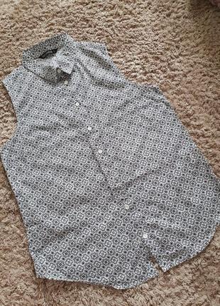 Сорочка без рукавів